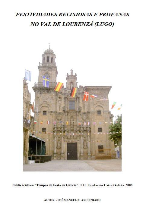 Festas relixiosas e profanas no Val de Lourenzá (J.M. Blanco Prado)