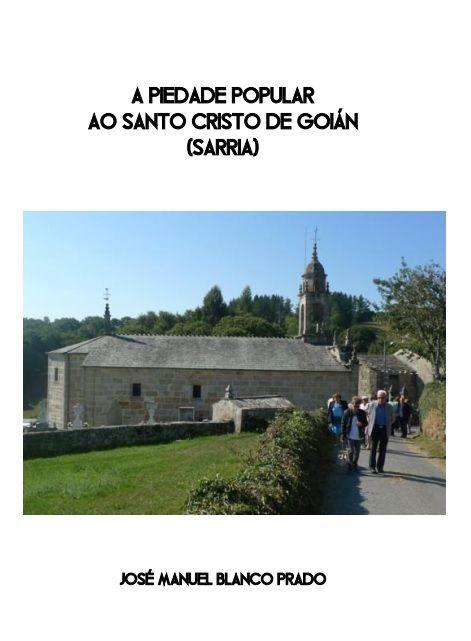 A Piedade Popular ao Santo Cristo de Goián (Sarria)