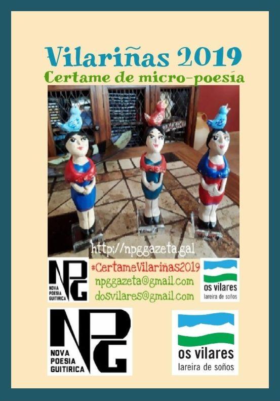 Vilariñas 2019: Certame de Micropoesía da Chaira