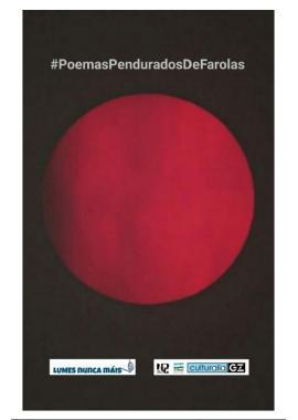 Poemas Pendurados de Farolas. Lumes, Nunca Máis!