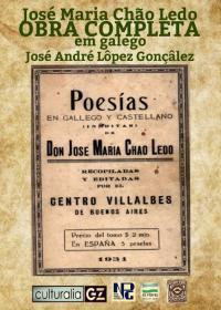 José María Chao Ledo - Obra completa en galego (José André Lôpez Gonçâlez)