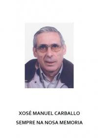 Xosé Manuel Carballo, Sempre na Nosa Memoria (Varios Autores)